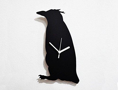 Royal Penguin Silhouette - Wall Clock
