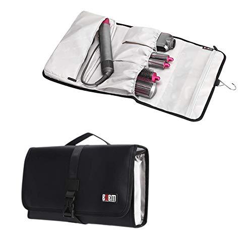 BUBM Travel Case Carry Case Portable Storage Bag Roller Hanging Bag Organizer for Dyson Airwrap Styler,Black 41qWw9yIoRL