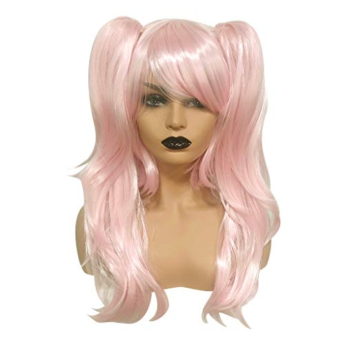 Aleola Long Wigs Cosplay Wigs Synthetic Hair With Bangs Hairstyles For Party]()