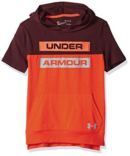 Under Armour Boys Sportstyle Short Sleeve Hoodie