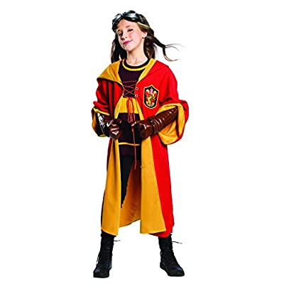 Charades - Harry Potter Quidditch Gryffindor Child Costume: Toys & Games