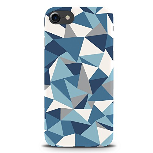 Koveru Back Cover Case for Apple iPhone 7 - Blue-grey Abstraction