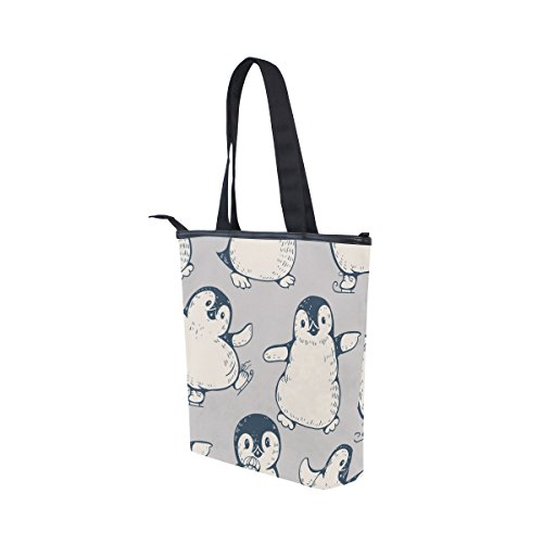 Womens Cute Tote Canvas Bag Shoulder Tote Bag MyDaily Penguins Shoulder Womens MyDaily Penguins Handbag Handbag MyDaily Canvas Cute AfwapqFRp