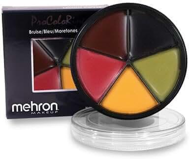 Mehron- ProColorRing- Bruise (5 Shade Color Wheel)