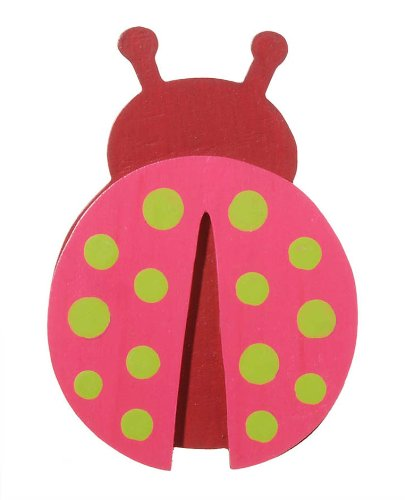 - Darice 9189-73 Painted Ladybug Cutout