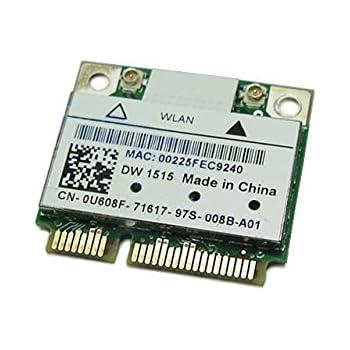 Dell DW 1506 Wirless b//g//n WLAN Card Dell Part # 0MNRG4