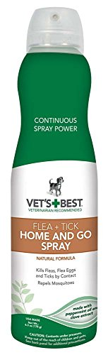 Vet's Best - Flea + Tick Home & Go Spray 6.3 oz
