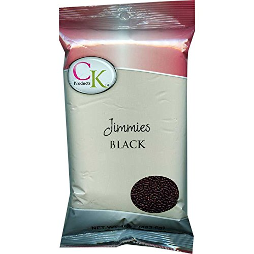 CK Products 16 Ounce Jimmies/Sprinkles Bag, Black -