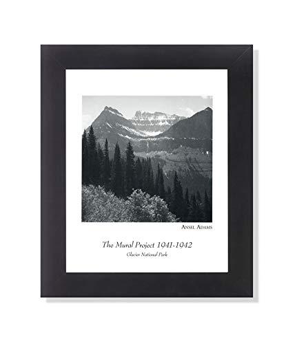 (Ansel Adams Glacier Park B/W Photo Wall Picture Framed Art Print)