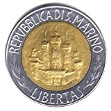 1984 San Marino Bi%2Dmetallic 500 Lire C