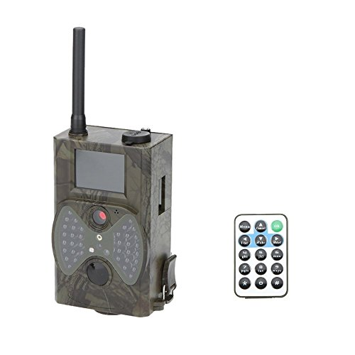 Lixada 940NM Scouting Hunting Camera HC300M HD GPRS MMS Digital Infrared Trail Camera GSM IR LED