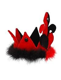 Elope 19462 Alice in Wonderland - Classic Queen of Hearts Crown