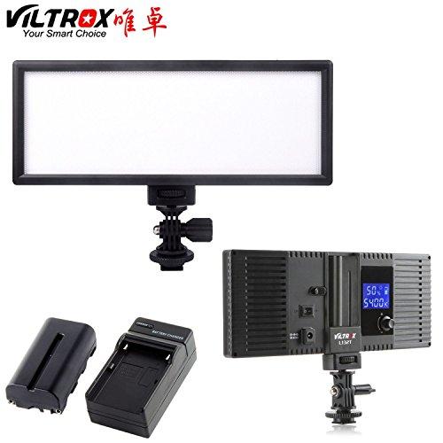 "VILTROX L132B Super Slim LED Light ,0.78""/2cm LED Dimmable U"