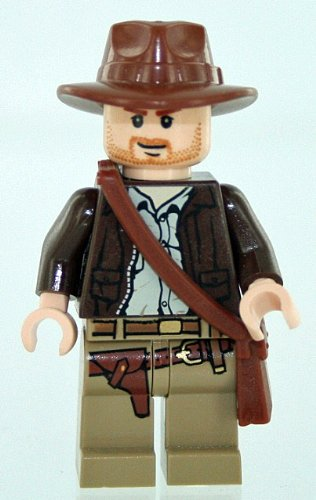 Lego Indiana Jones with Satchel & Hat