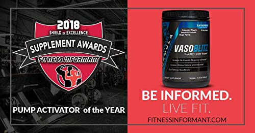 VASOBLITZ Award Winning Dual Nitric Oxide Pre Workout with NO3T Arginine Nitrate,L-Citrulline,Betaine Anhydrous,Calcium Lactate & Caffeine Free for Muscular Endurance(30 Serving, Fruit Punch)        by Build Fast Formula (Image #3)