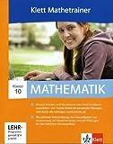 Klett Mathetrainer. Lehrwerksbegleitende Schülersoftware passend zu den Lehrwerken Lambacher-Schweizer, Schnittpunkt, Einblicke, mathe live / 10. Klasse - Einzellizenz