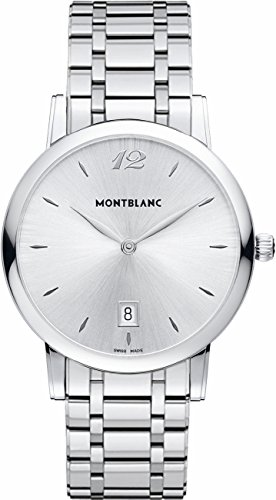 MontBlanc-Star-Classique-108768-Silver-Dial-Stainless-Steel-Mens-Watch