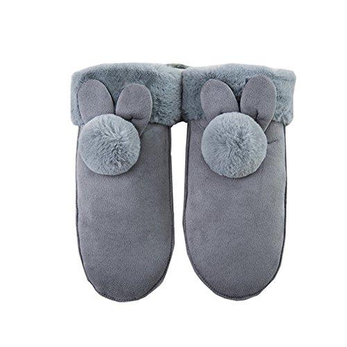 レディース 手袋 ミトン手袋 ふんわり ミトンタイプ 暖かい 可愛い 厚手 おしゃれ 防寒 スタイリッシュ Monissy