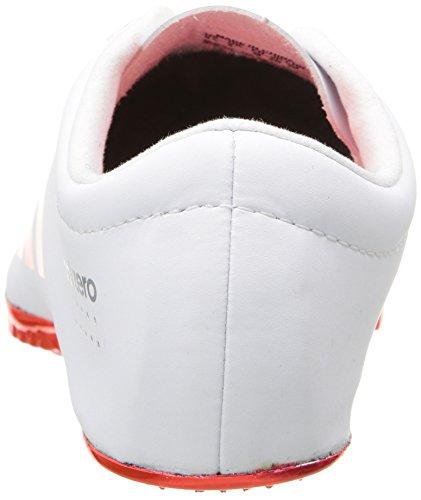 Adidas Adizero Prime Performance Sp las zapatillas de running Con Los Puntos White/Infrared/Metallic/Silver