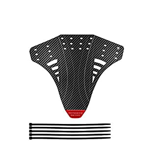 NUSHASIY Latest Bicycle fenders Carbon Twill Plastic Reflective Sticker fenders Set Bike Mudguard Rear Front Wing for…