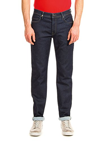 Carrera Jeans - Jeans PASSPORT T707M0900A para hombre, estilo recto, tejido extensible, ajuste regular, cintura normal Midnight Blue