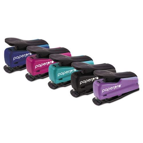 PaperPro Nano Mini Stapler - Desktop Stapler - 12 Sheets Capacity - Assorted