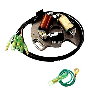 WFLNHB Stator Fit for Yamaha All-Terrain Vehicle ATV/Blaster 200 YFS200 1997-2002: Automotive