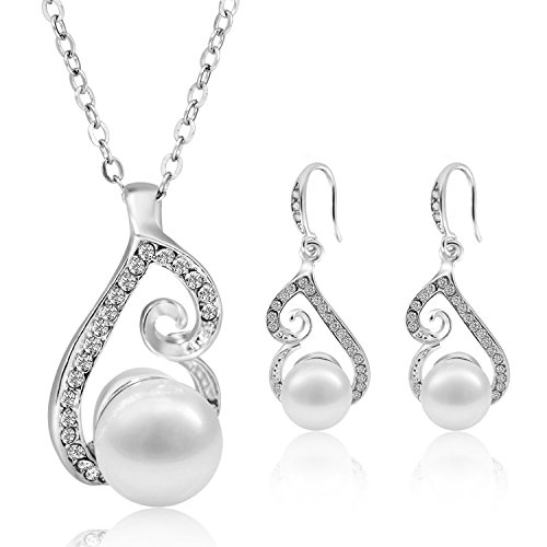 Morenitor Jewelry Set Gold Plated Faux