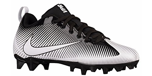 Nike Men's Vapor Strike 5 TD Football Cleat Black/Black/White Size 11 M US (Nike Molded Cleats Football)