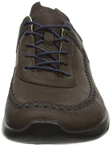 Ecco Herren Cross X Sneaker Braun (Coffee/Marine)