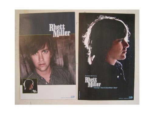 Rhett Miller Poster Double Sided
