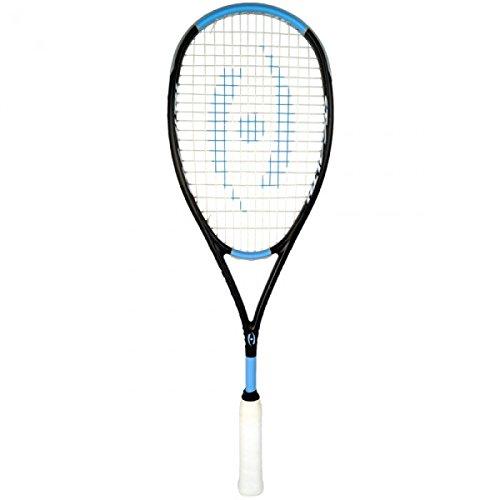 Harrow 65980216 2016 Stealth Ultralite Squash Racquet, Black/Carolina