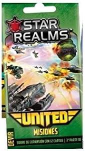 Devir Star Realms United: misiones - Expansión Juego de Mesa ...