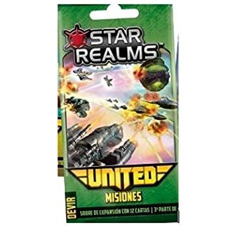 Devir Star Realms United: misiones - Expansión Juego de Mesa [Castellano]: Amazon.es: Juguetes y juegos