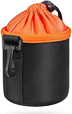 Waterproof Neoprene Pouch DSLR Camera Lens Protective Bag Soft Case Bag