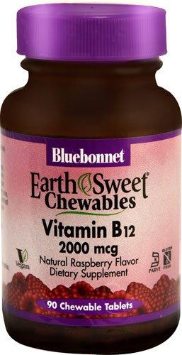 Bluebonnet Nutrition EarthSweet® Chewables Vitamin B12 Na...