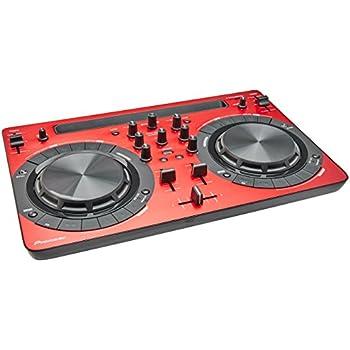 Pioneer DDJ-WeGO3-R Compact 2 Deck DJ Controller - RED