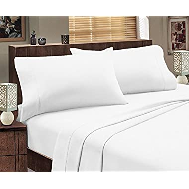 Mayfair Linen Hotel Collection 100% Egyptian Cotton- Genuine 800Tc Sheet Set King White
