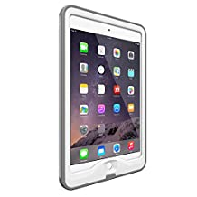 Lifeproof Nuud Case for iPad Mini 3, Bright White/Cool Gray