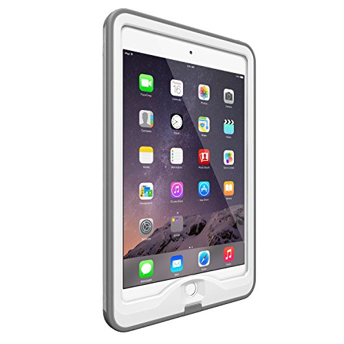 LifeProof NÜÜD iPad Mini/Mini 2/Mini 3 Waterproof Case - Retail Packaging - AVALANCHE (WHITE/GREY)