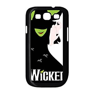 Customzie Cartoon Wicked Musical Back Case for Samsung Galaxy S3 i9300 JNS3-1559