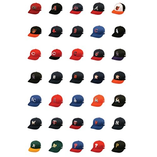 817f7feb23c MLB Licensed Replica Caps   All 30 Major League Baseball Teams Official Hat  of Youth Little League ...