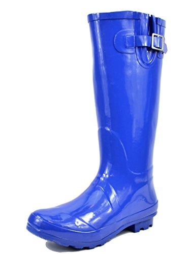 rain boots blue - 5