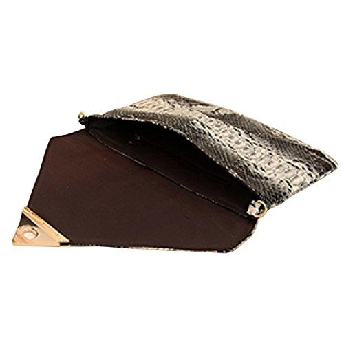 correa piel diseño desmontable Aisi dorada de bolso Snakeskin Snakeskin multicolor mujer y de 11 con nb serpiente para YqxHv1xw4