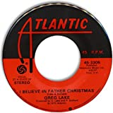 i believe in father christmas 45 rpm single
