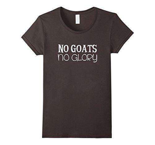 Womens No Goats No Glory T-Shirt Medium Asphalt - Glory Womens Shirt