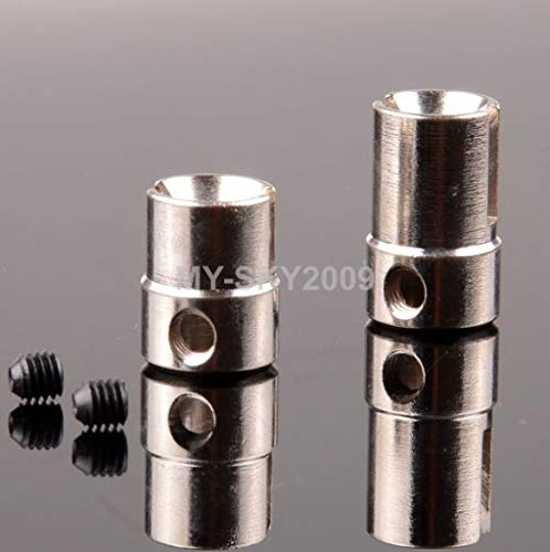 - Part & Accessories 81021 Drive Gear Joint Cups For Himoto 94081 94083 94085 94086 94087 94088 - (Color: Silver)