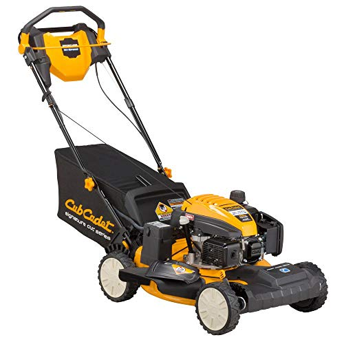 Cub Cadet 21 in. 159 cc 3-in-1 Front-Wheel Drive Gas Push Button Electric Start Walk Behind Self Propelled Lawn Mower