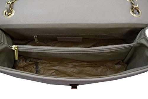 collezioni en cuir Sac matelassè à Beige canetti grand bandoulière Pxqwg77dv