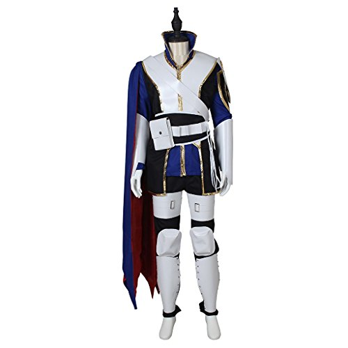 Ike Fire Emblem Costume (CosplayDiy Men's Suit for Fire Emblem Binding Blade Roy Cosplay L)